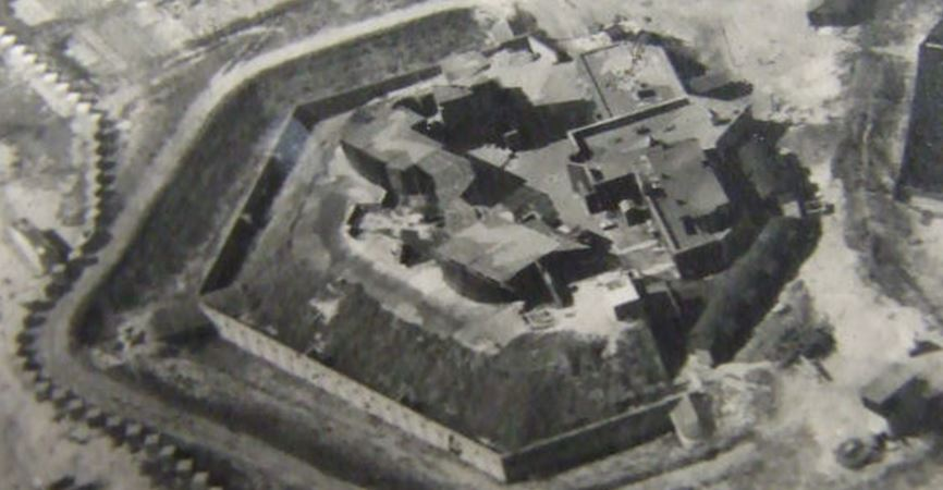 Shoreham Fort during World War II