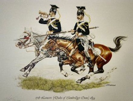 17th Lancers (Duke of Cambridge's Own) 1854 by J Pritchard