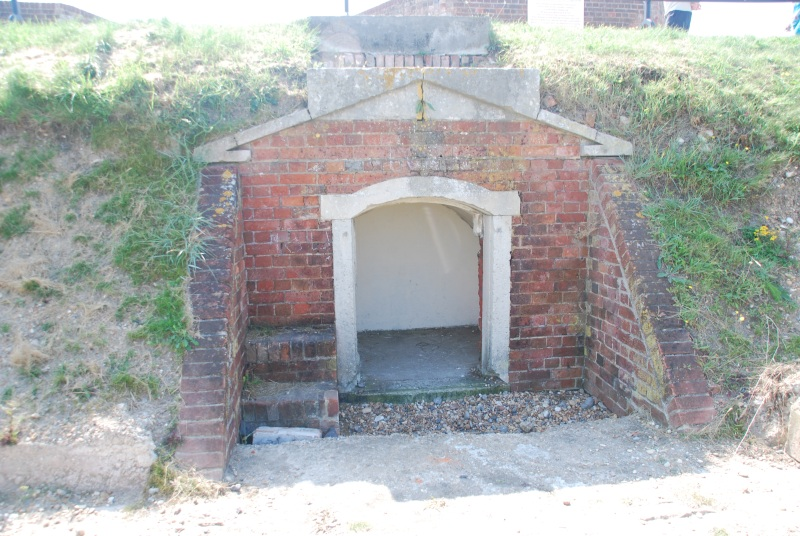 One of the Shell Recesses at Shoreham Fort