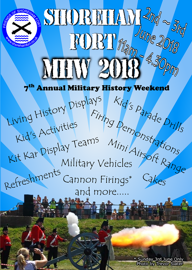 Military History Weekend 2018 Poster