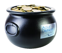 Adur Pot Of Gold Logo