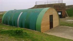 Nissen Hut April 2014